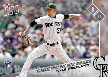 2017 Topps Now #341 Kyle Freeland Front