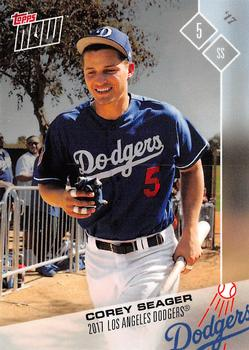 26342b37 2017 Topps Now Road to Opening Day Los Angeles Dodgers #OD-407 Corey Seager