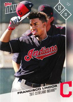 2017 Topps Now Road to Opening Day Cleveland Indians #OD-92 Francisco Lindor Front