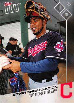 2017 Topps Now Road to Opening Day - Cleveland Indians #OD-93 Edwin Encarnacion Front