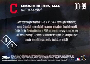 2017 Topps Now Road to Opening Day Cleveland Indians #OD-99 Lonnie Chisenhall Back