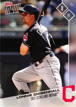 2017 Topps Now Road to Opening Day Cleveland Indians #OD-99 Lonnie Chisenhall Front