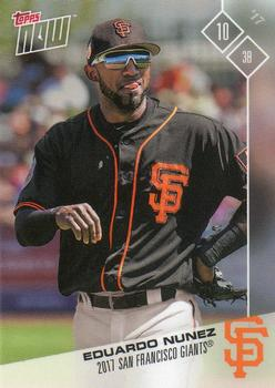 2017 Topps Now Road to Opening Day San Francisco Giants #OD-441 Eduardo Nunez Front