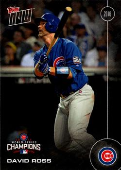 Chicago Cubs Anthony Rizzo 2016 Topps Now Card #WS-3