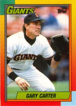 1990 Topps Traded #19T Gary Carter Front