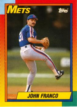 1990 Topps Traded #32T John Franco Front