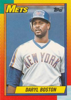 1990 Topps Traded #11T Daryl Boston Front