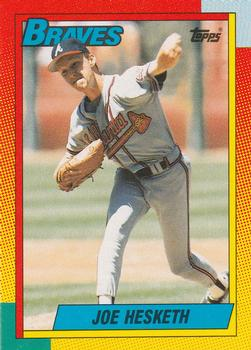 1990 Topps Traded #40T Joe Hesketh Front