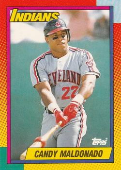 1990 Topps Traded #65T Candy Maldonado Front