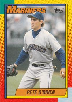 1990 Topps Traded #82T Pete O'Brien Front