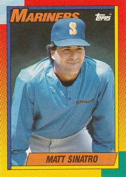 1990 Topps Traded #115T Matt Sinatro Front
