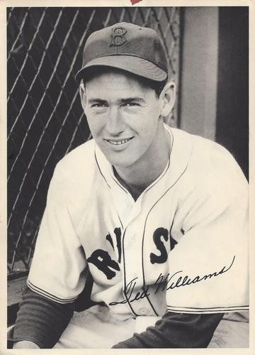 1941 Boston Red Sox Picture Pack #NNO Ted Williams Front