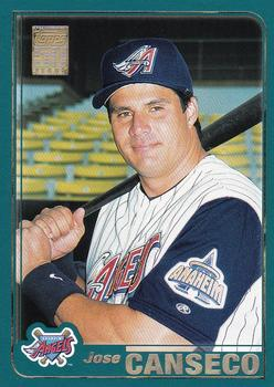 2001 Topps #636 Jose Canseco Front
