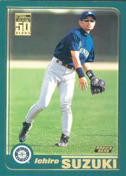 2001 Topps Ichiro Suzuki