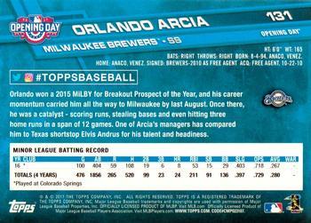 Orlando Arcia Gallery The Trading Card Database