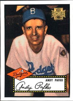 2001 Topps Archives #11 Andy Pafko Front