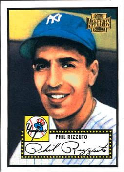 2001 Topps Archives #12 Phil Rizzuto Front