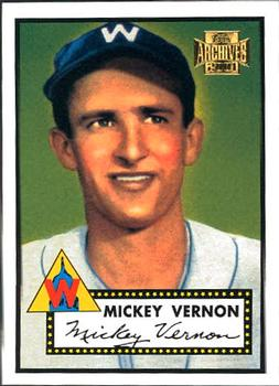 2001 Topps Archives #18 Mickey Vernon Front