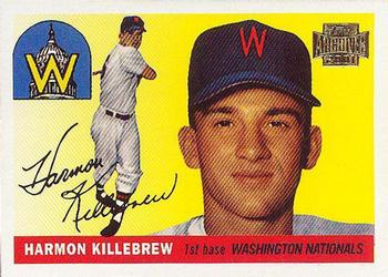 2001 Topps Archives #24 Harmon Killebrew Front