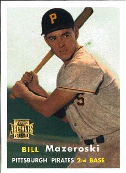 2001 Topps Archives #28 Bill Mazeroski Front