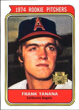 2001 Topps Archives #295 Frank Tanana Front