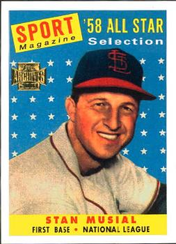 2001 Topps Archives #31 Stan Musial Front