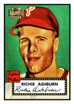 2001 Topps Archives #311 Richie Ashburn Front