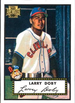 2001 Topps Archives #5 Larry Doby Front