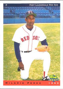 1993 Classic Best Fort Lauderdale Red Sox #21 Hilario Perez Front