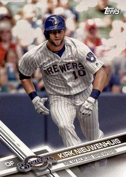 2017 Topps Milwaukee Brewers #MIL-10 Kirk Nieuwenhuis Front