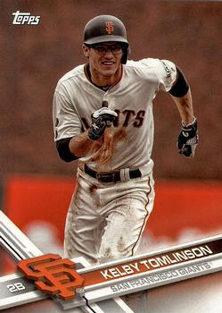 2017 Topps San Francisco Giants #SF-2 Kelby Tomlinson Front