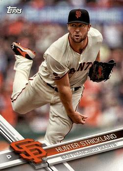 2017 Topps San Francisco Giants #SF-15 Hunter Strickland Front