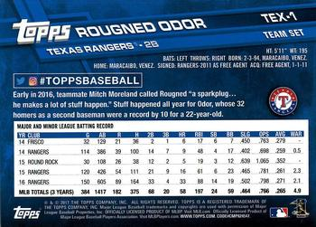 Rougned Odor Gallery The Trading Card Database