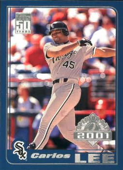2001 Topps Opening Day #25 Carlos Lee Front