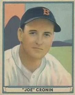 1941 Play Ball #15 Joe Cronin Front
