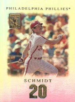 2001 Topps Tribute #17 Mike Schmidt Front