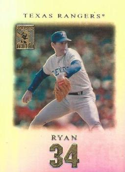 2001 Topps Tribute #29 Nolan Ryan Front