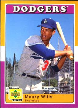 Maury Wills Gallery The Trading Card Database