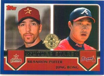 2003 Topps - Home Team Advantage #331 Brandon Puffer / Jung Bong  Front