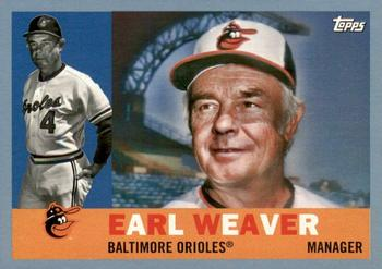 2017 Topps Archives - Blue #3 Earl Weaver Front