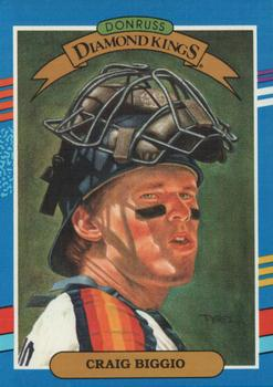 1991 Donruss #2 Craig Biggio Front