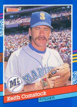 1991 Donruss #246 Keith Comstock Front