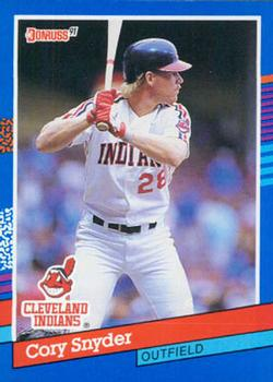 1991 Donruss #288 Cory Snyder Front