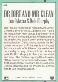 Lenny Dykstra Gallery The Trading Card Database
