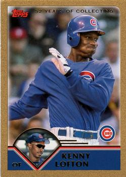 2003 Topps Traded & Rookies - Gold #T110 Kenny Lofton Front
