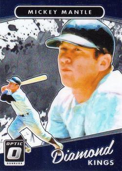 2017 Donruss Optic #7 Mickey Mantle Front