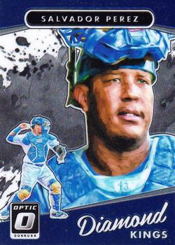 2017 Donruss Optic #12 Salvador Perez Front
