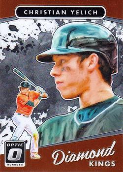2017 Donruss Optic #15 Christian Yelich Front