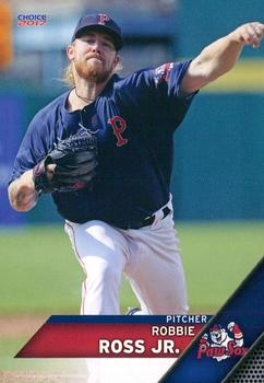2017 Choice Pawtucket Red Sox #22 Robbie Ross Front
