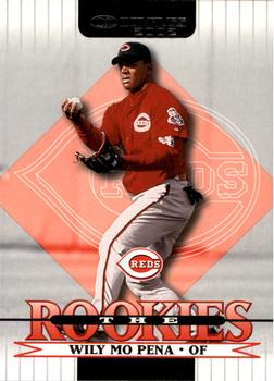 2002 Donruss The Rookies #50 Wily Mo Pena Front